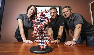 Executives Stephanie George, Jim Linton and Paul Predki
